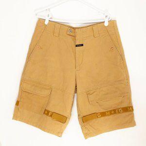 Vintage 90s Marithé François Girbaud Yellow Shorts